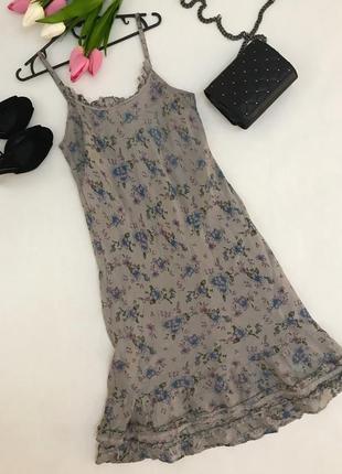 Натуральное шелковое платье в бельевом стиле👌🏽