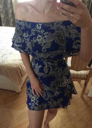 Плаття сукня платье в цвети