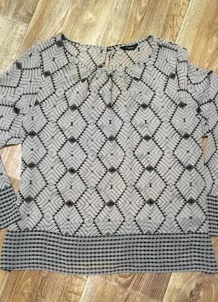 Шифоновая блуза/блузка/кофточка