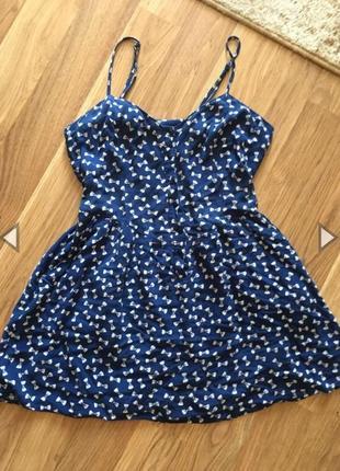 Платье хлопок летнее сарафан