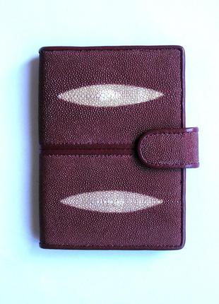 Документница для карт+ для паспорта,100% натур. кожа ската+телячья, доставка бесплатно