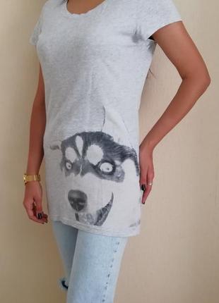 Удлинённая футболка kira plastinina
