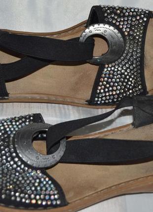 Босоножки сандали rieker размер 38, босоніжки сандалі
