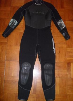 Гидрокостюм полусухой scubapro , размер м ( 40 ) , толщ 7mm2 фото
