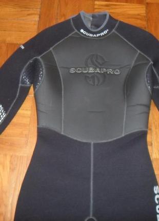 Гидрокостюм полусухой scubapro , размер м ( 40 ) , толщ 7mm1 фото