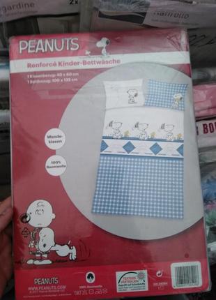 Детское постельное белье peanuts