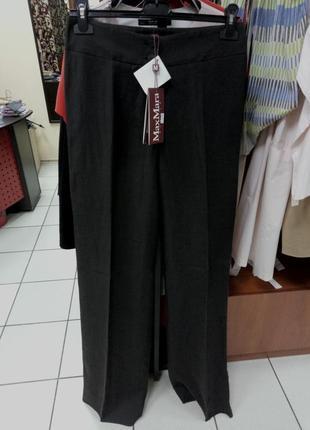 Льняные брюки палаццо max mara