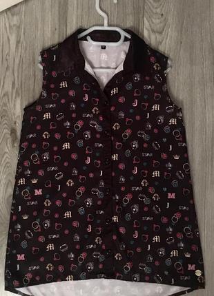 Стильная рубашка star by julien macdonald, летние рубашки для девочек,блузки для девочек
