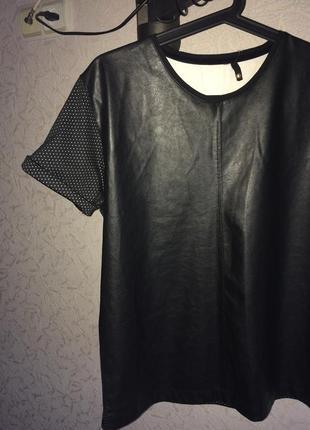 M-l супер стильная футболка под кожу