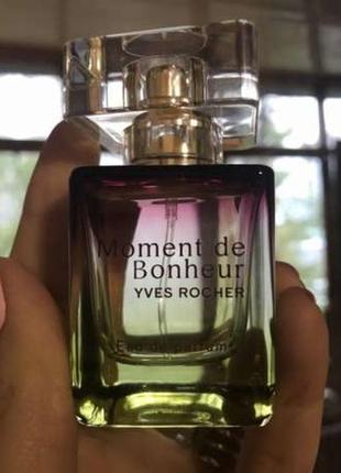 "Парфюмированная вода ""moment de bonheur""yves rocher"