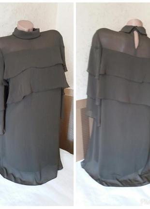 Платье zara basic.