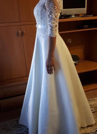 Новое свадебное платье айвори