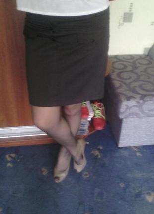 Деловая летняя юбка