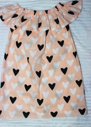 Платье сарафан с натурального хлопка