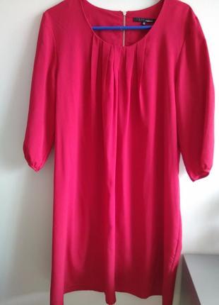 Нарядное красное платье , размер 40