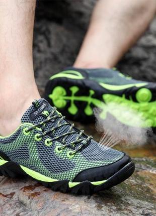 925fabdf8 Мужские туристические кроссовки для активного отдыха водоотталкивающие.