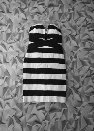 Платье бандо tfnc london