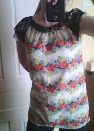 Шифонова блузка3 фото
