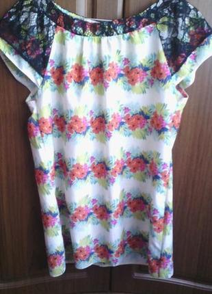 Шифонова блузка2 фото