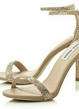 Босоножки на каблуке 38 размер свадьба выпускной steve madden замша