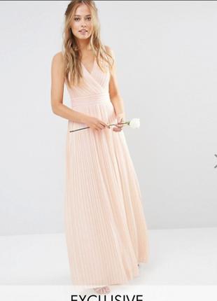 Нежное вечернее платье, выпускное. распродажа