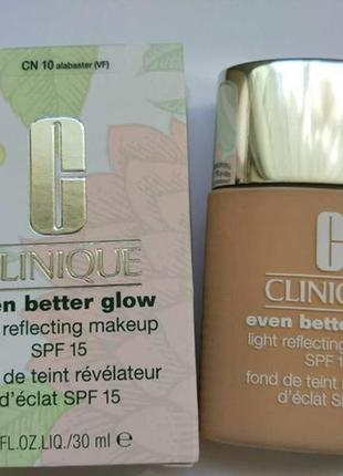 Тональный крем clinique  even better glow light reflecting makeup spf 15 оригинал