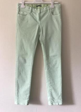 Balmain мятные джинсы