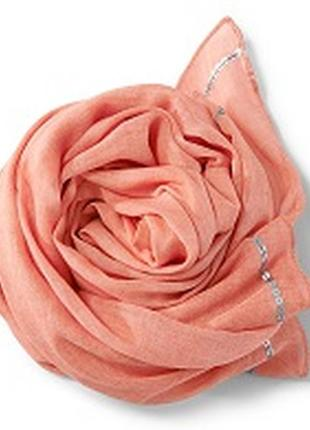 Шаль платок с пайетками 100 на 160 tchibo тсм