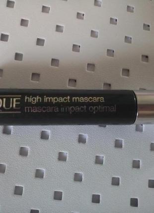Тушь clinique high impact mascara optimal 7 мл