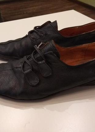 224d5de6eb23 Кожаные туфли, женские 2019 - купить недорого вещи в интернет ...