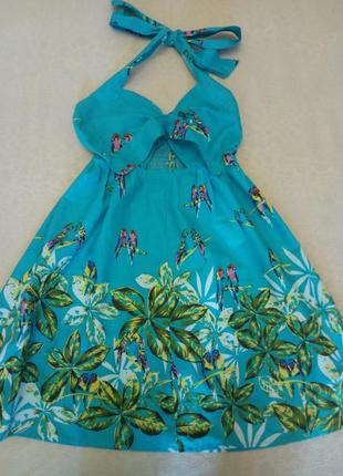 Платье мини сарафан atmosphere