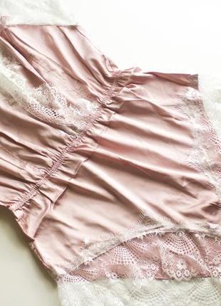 Атласная пижама sheinsde,боди,ночнушка