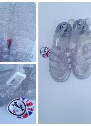 Трендовые сандали босоножки силиконовые босоножки