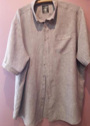 Рубашка-лен100%