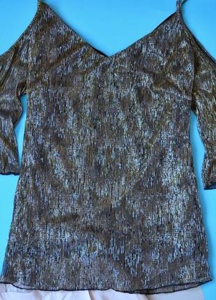 Блуза с открытыми плечами от missguided