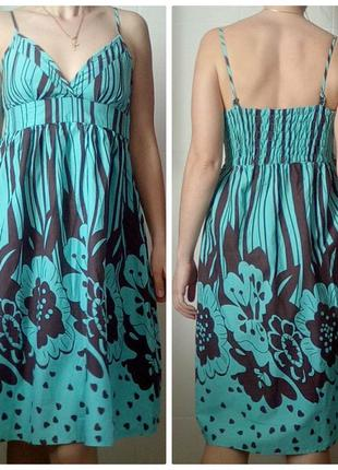 Берёзовое платье летнее