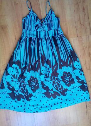 Берёзовое платье летнее2 фото