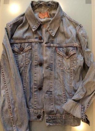 Куртка джинсовая levis светлая оригинал