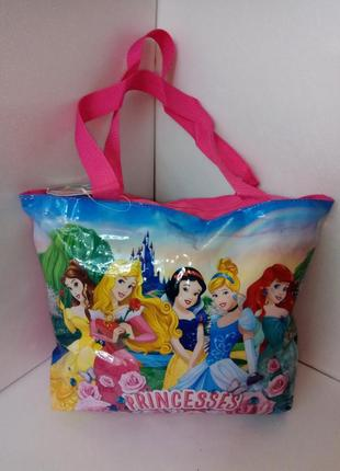 Новая пляжная сумка для девочек princess
