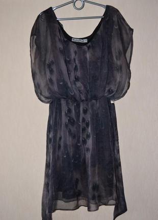 Шикарное шифоновое платье gloria jeans xs-s