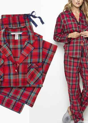Victoria s secret фланелевая пижамка e857ffc4382f1