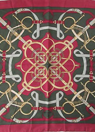 Eperon d'or  от henri d'origny hermes, платок винтажный