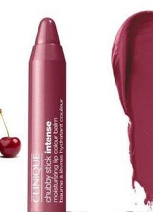 Clinique chubby stick в оттенке07 broadest berry 1.2gr.бесплатная доставка