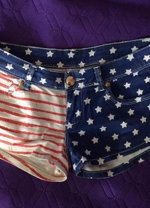 Шорты американки американский флаг