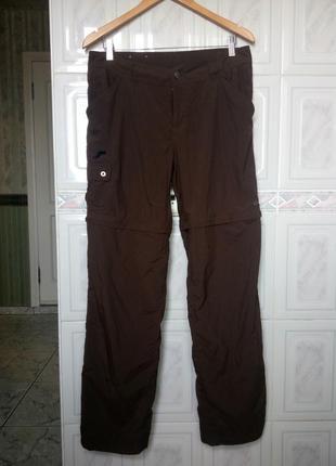 Columbia трекинговые штаны летние трансформеры