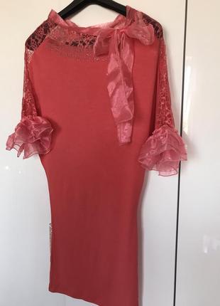 Трикотажное платье sogo
