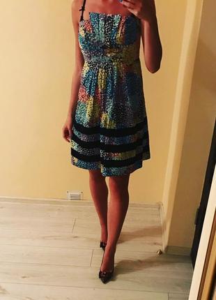 Платье яркое летние