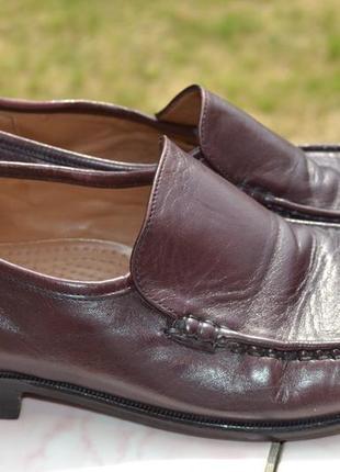 Туфли, мокасины sioux натуральная кожа 42-43 оригинал