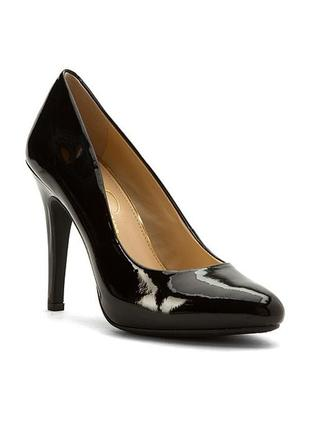 Jessica simpson оригинал лаковые туфли лодочки на шпильке бренд из сша