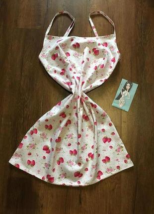 Сатиновое платье